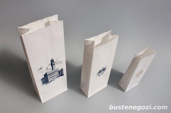 Eccezionale Buste in carta con fondo quadro YM14
